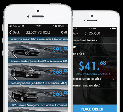 Chicago Airport Limo App - Limousine Near Me