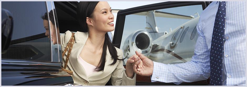 Rent a Black Car - Successful Businessman